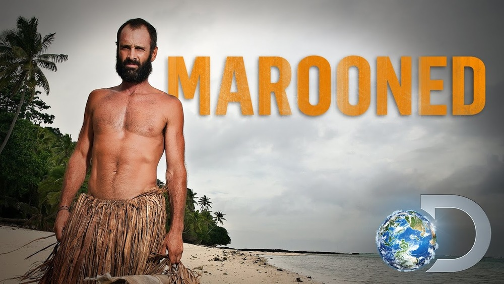 man against wild : Marooned
